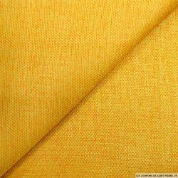Jacquard changeant jaune et orange