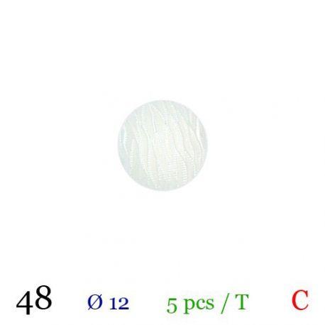 Tube 5 boutons Ø 12mm