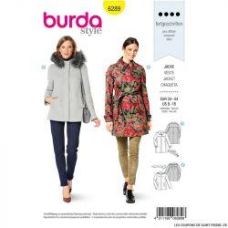 Patron Burda n°6289 Jacket femme