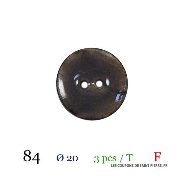 Tube 6 boutons Ø 20mm