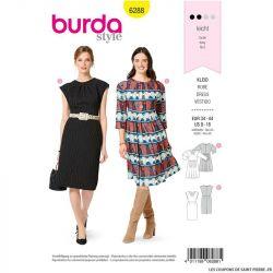 Patron Burda n°6275 Manteau