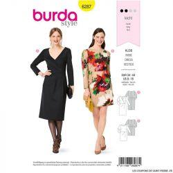 Patron Burda n°6287 Robe