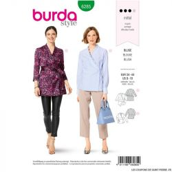 Patron Burda n°6285 Blouse