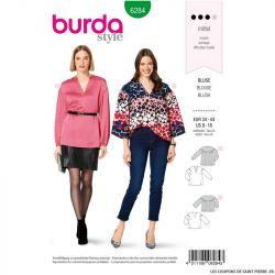Patron Burda n°6284 Blouse