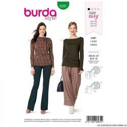 Patron Burda n°6281 Tshirt