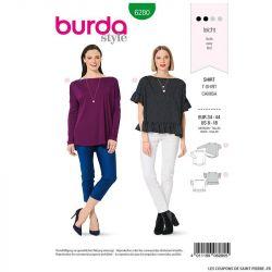 Patron Burda n°6280 Tshirt