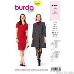 Patron Burda n°6279 Robe