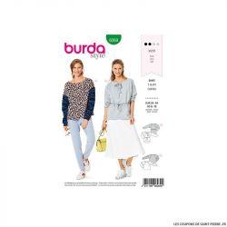 Patron Burda n°6269 T-shirt
