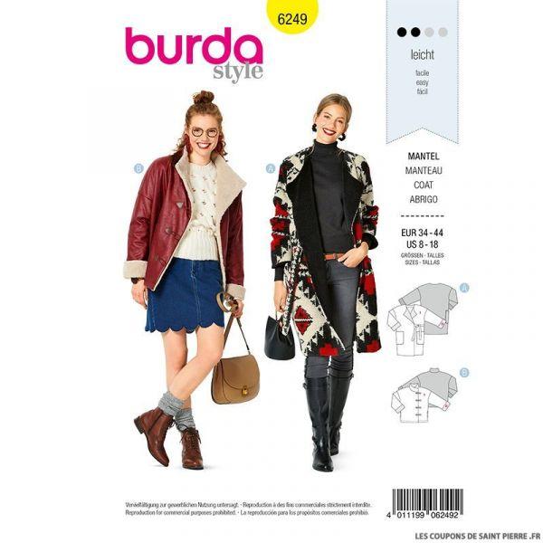 Patron Burda n°9308 Sweatshirt enfant