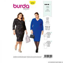 Patron Burda n°6259 Robe