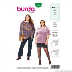 Patron Burda n°6260 T-shirt