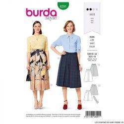 Patron Burda n°6291 Jupe