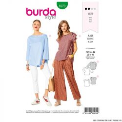 Patron Burda n°6270 Blouse