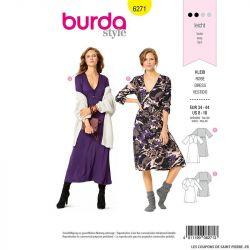 Patron Burda n°6271 Robe