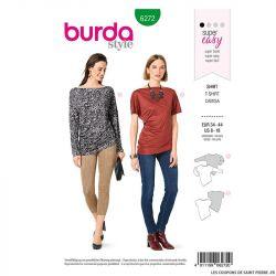 Patron Burda n°6272 Tshirt