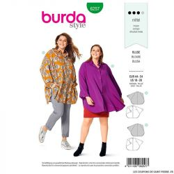 Patron Burda n°6257 Blouse