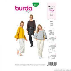 Patron Burda n°6254 T-shirt
