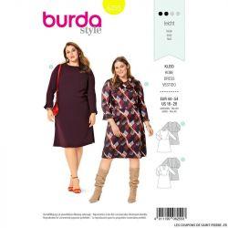 Patron Burda n°6255 Robe