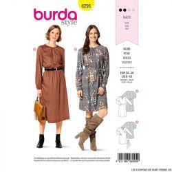 Patron Burda n°6295 Robe