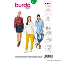 Patron Burda n°6263 Blouse