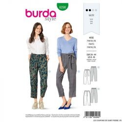 Patron Burda n°6298 Pantalon
