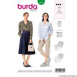 Patron Burda n°6274 Blouse