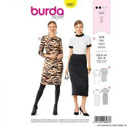 Patron Burda n°6267 Robe