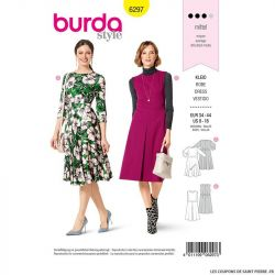Patron Burda n°6297 Robe
