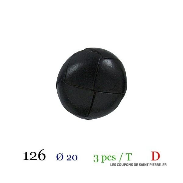 Tube 3 boutons Ø 20mm