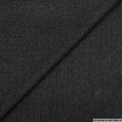 Jacquard polyviscose chiné anthracite