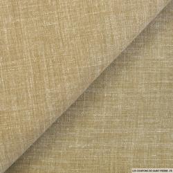 Doupion polyviscose sable chiné
