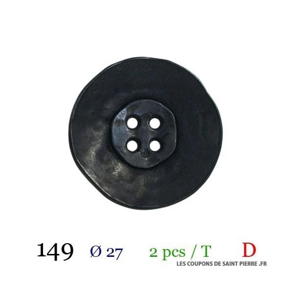 Tube 2 boutons Ø 27mm