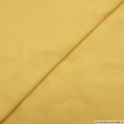 Etamine de laine jaune poussin
