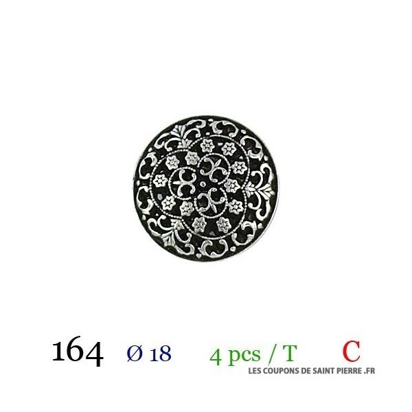 Tube 4 boutons Ø 18mm