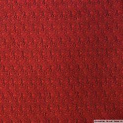 Jean's jacquard triangles rouges et noirs