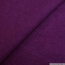 Laine bouillie violet