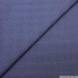Jacquard polyester losanges indigo
