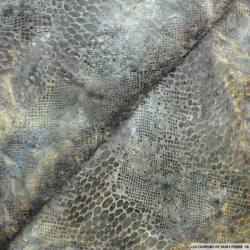 Maille polyester sauvage