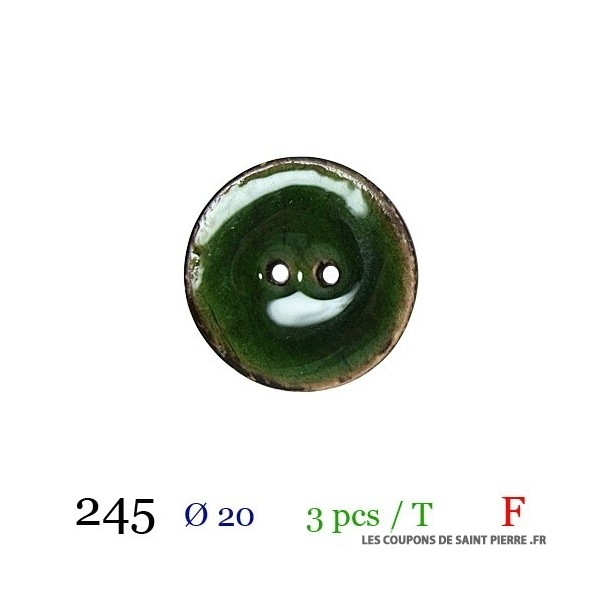 Tube 6 boutons Ø 10mm