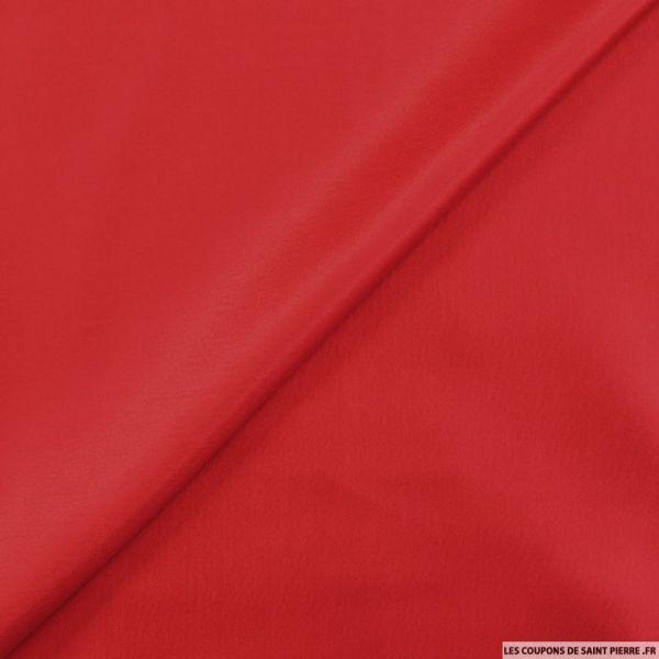 Twill de soie léger rubis
