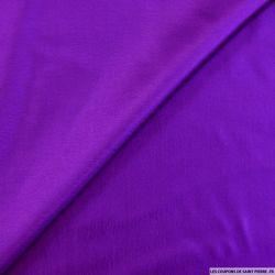 Twill de soie léger violet