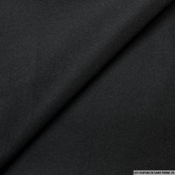 100% Laine sergé noir
