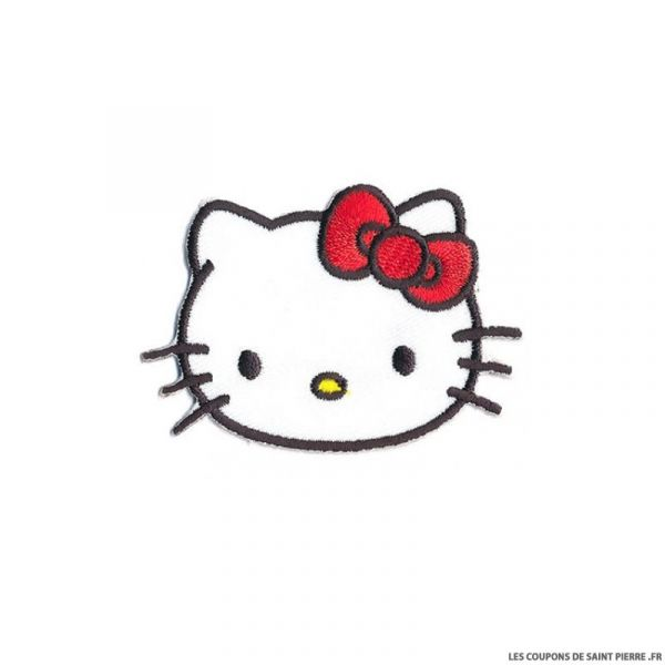 Écusson Hello Kitty à thermocoller