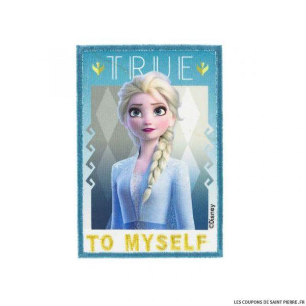 Écusson Elsa La Reine des Neiges 2 à thermocoller