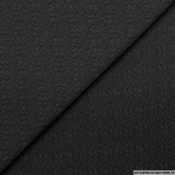 Polyester fantaisie noir