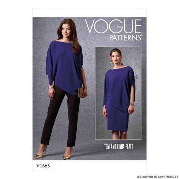Patron Vogue V1665 : Vêtements de sport