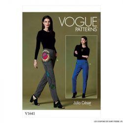 Patron Vogue V1641 : Pantalon fuseau