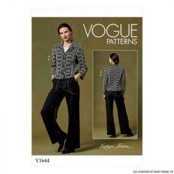 Patron Vogue V1644 : Veste et pantalon
