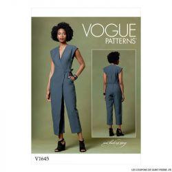 Patron Vogue V1645 : Combinaison