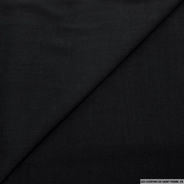 Viscose tissé noir